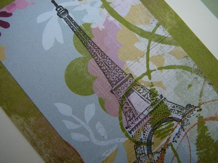 eiffel tower - petit pear - etsy