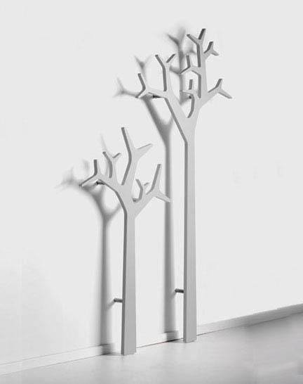 Trees efedesigns for Artistic coat hooks