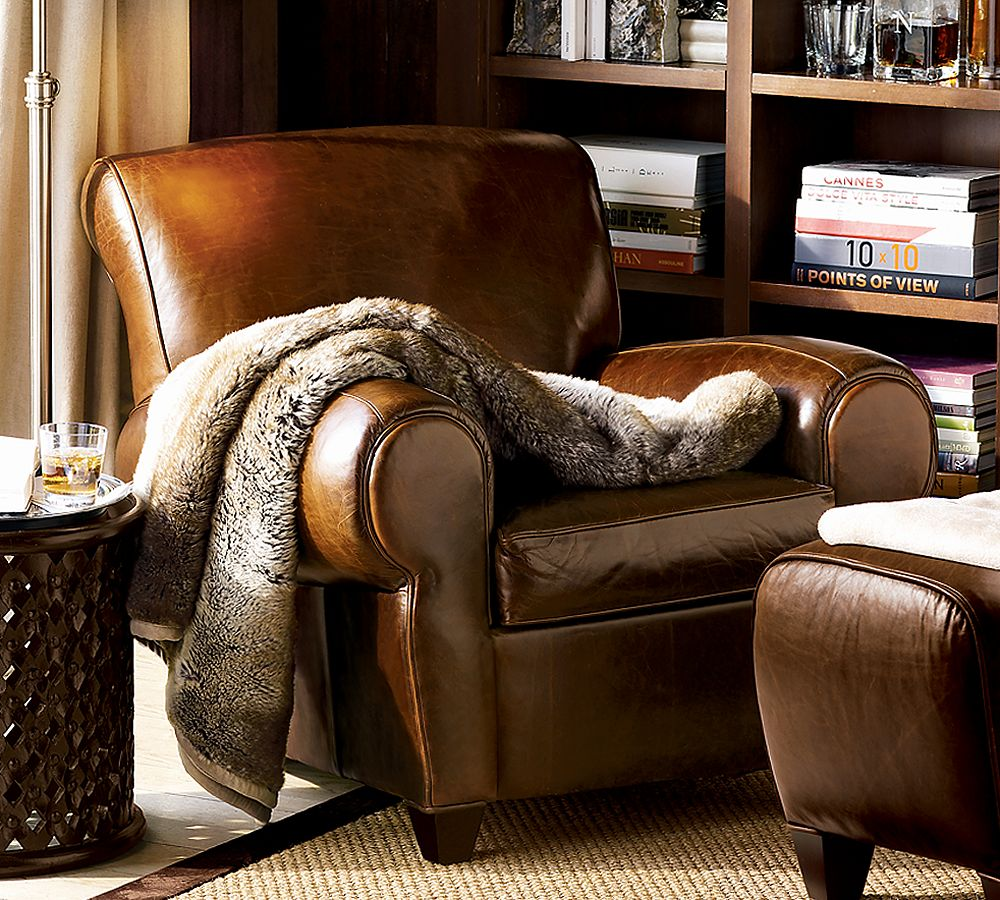 Crate And Barrel Ottoman Coffee Table think the Manhattan Chair from Pottery Barn is a timeless classic ...