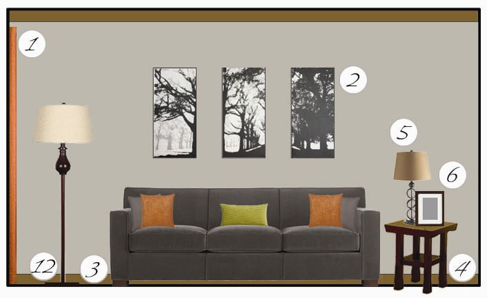 Plan And Elevation Of Sofa : Mood board efedesigns