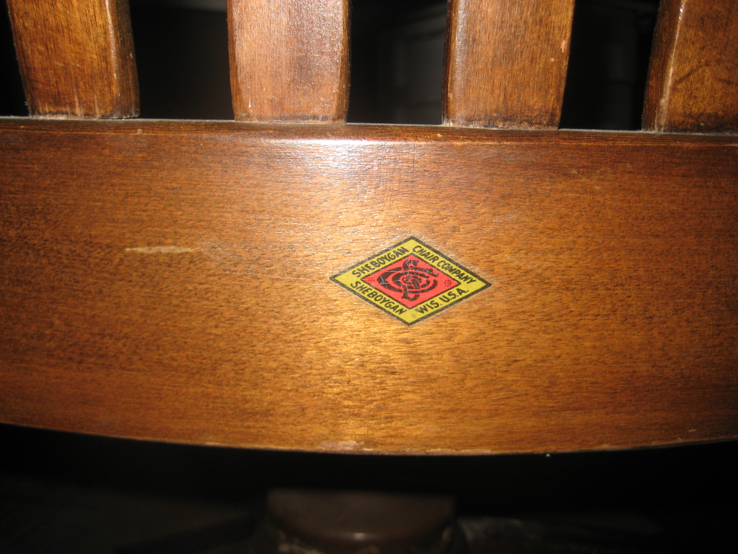 Exceptionnel Itu0027s From Sheboygan Chair Company ...